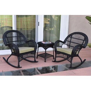 Mangum 3 Piece Conversation Set with Cushions