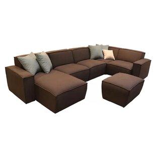 Capra Reversible Corner Sofa By Mercury Row