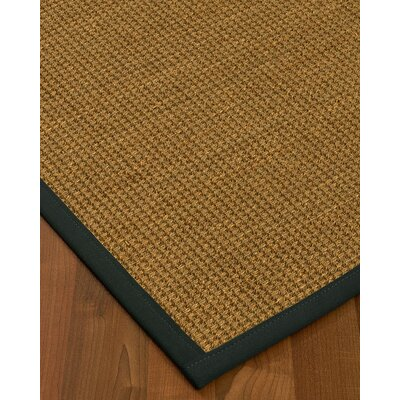 What Size Rug Pad For 8x10 Rug.Kenworthy Border Hand Woven Brownonyx Area Rug Bayou Breeze