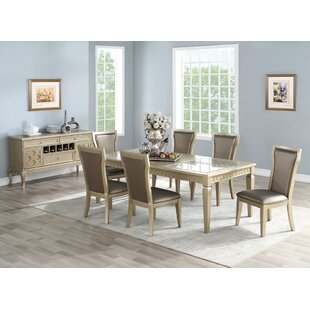 Branstetter 7 Piece Drop Leaf Dining Set House of Hampton