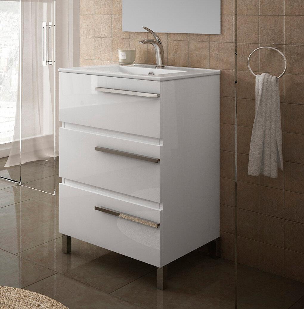 Orren Ellis Sighni 20 Single Bathroom Vanity Set Wayfair