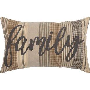 Surikova Family Cotton Lumbar Pillow