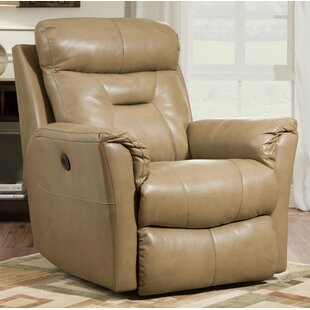 Flicker Leather Recliner by Southern Motion