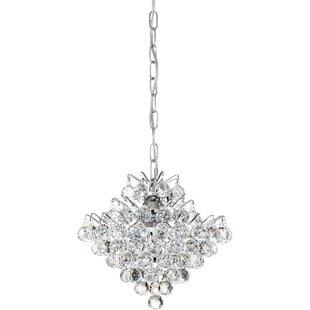 Willa Arlo Interiors Faun 4-Light Crystal Pendant