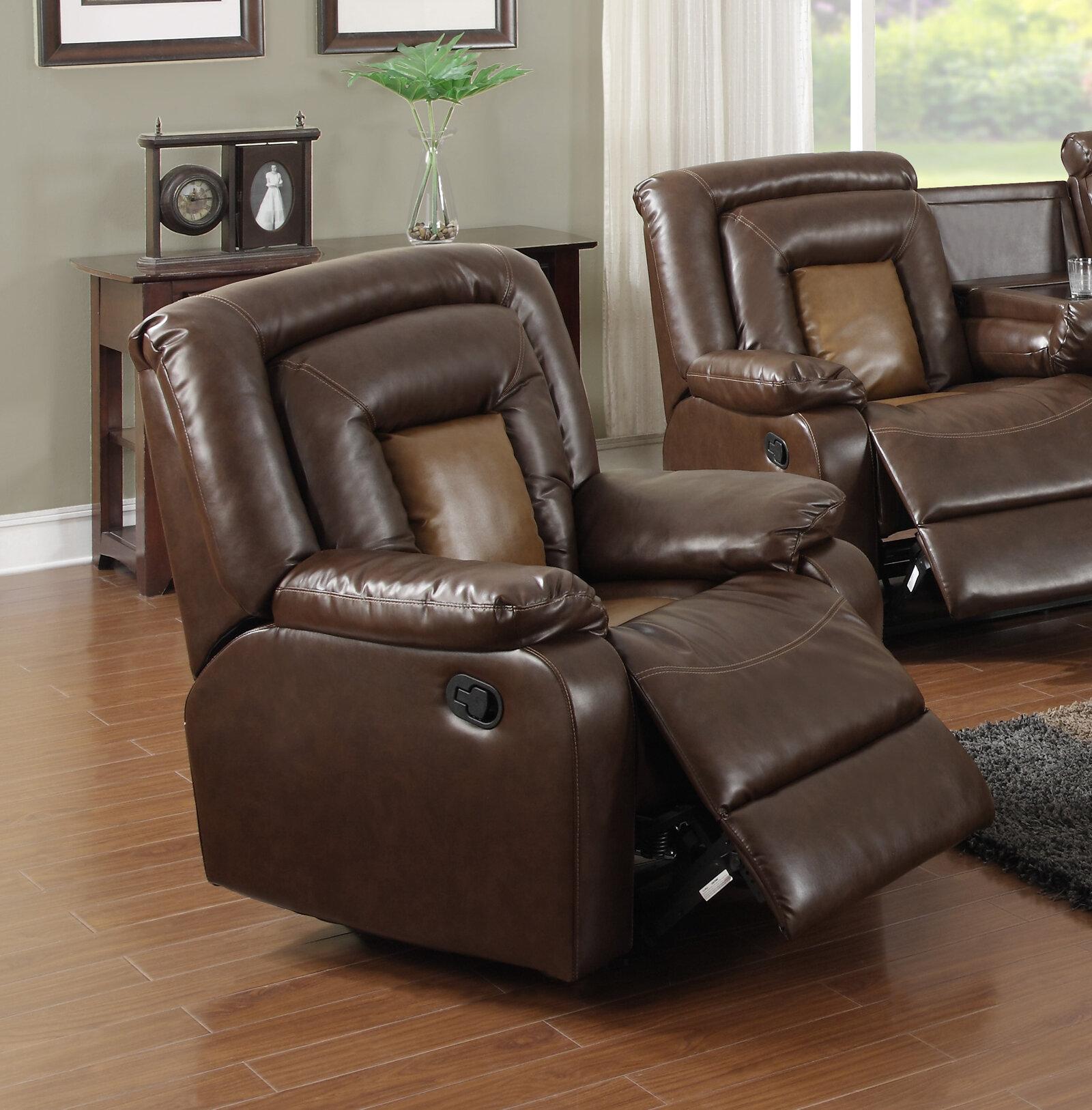 Beverly Fine Furniture Topeka Recliner U0026 Reviews | Wayfair