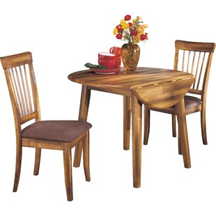 Solange 3 Piece Drop Leaf Dining Set Bay Isle Home
