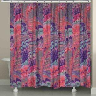 Hartzell Marble Single Shower Curtain