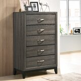 Macy 5 Drawer Chest by Wrought Studio™