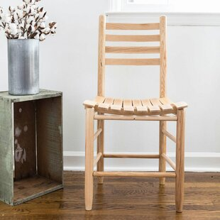Thor Ladder Back Solid Wood Dining Chair