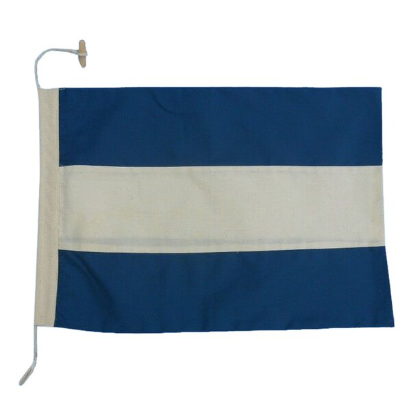 Handcrafted Nautical Decor Letter J Cloth Alphabet Flag Wall Décor Reviews Wayfair