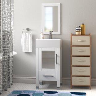 Searle 18 inch  Single Bathroom Vanity Set with Mirror