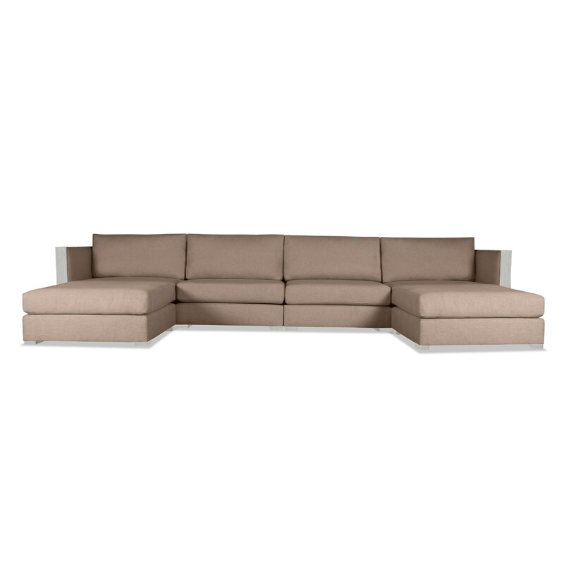 Steffi Double Chaise Sectional | AllModern