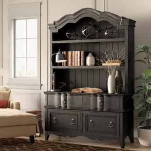 RojasCredenza Desk With Hutch by Birch Lane™ Heritage Best