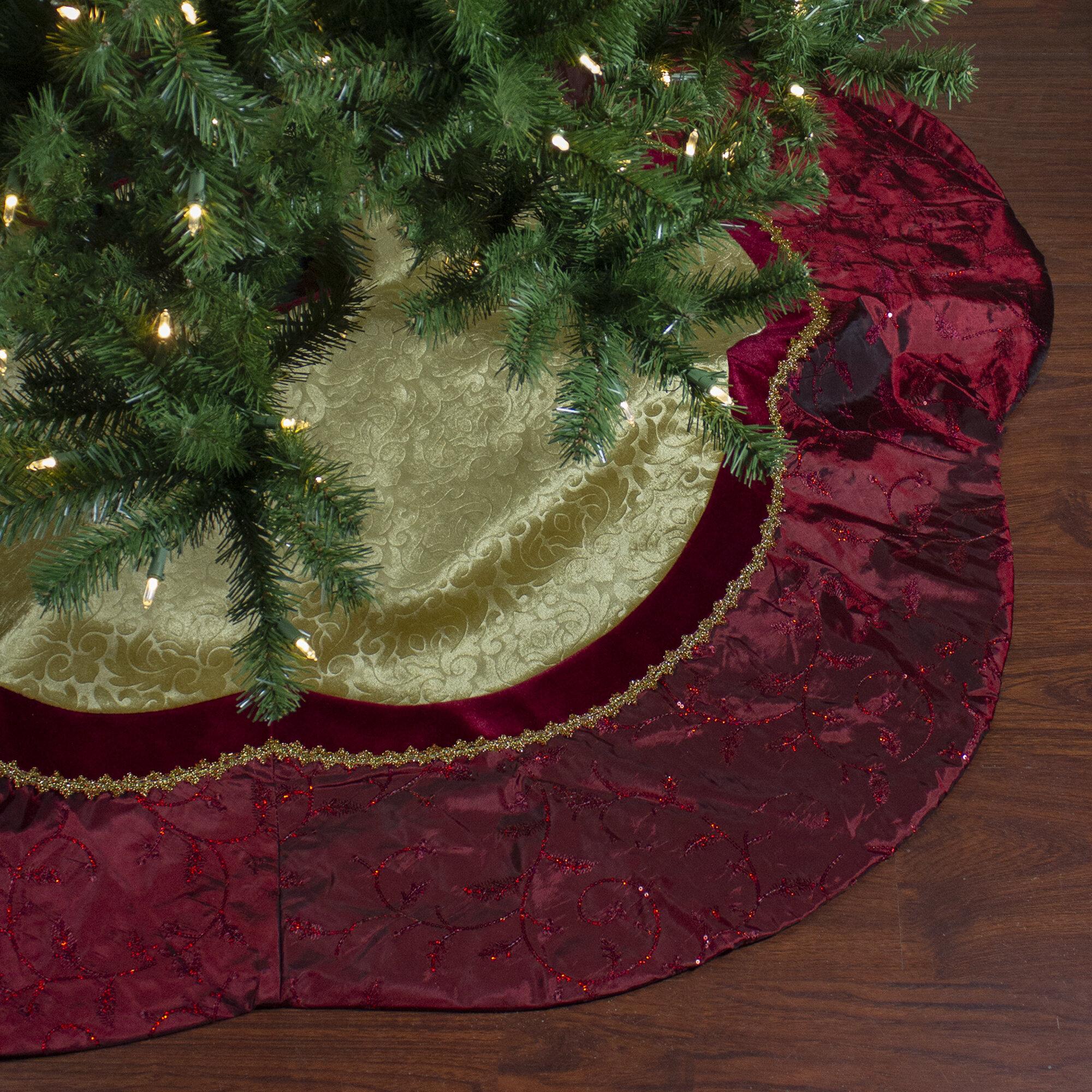 Northlight Scalloped Tree Skirt Wayfair