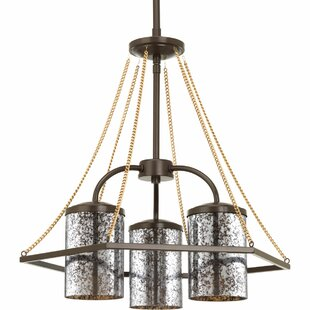 Inexpensive Garvin 3-Light Shaded Chandelier By Latitude Run