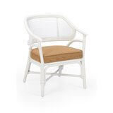 Slat Back Arm Chair in White by Chelsea House