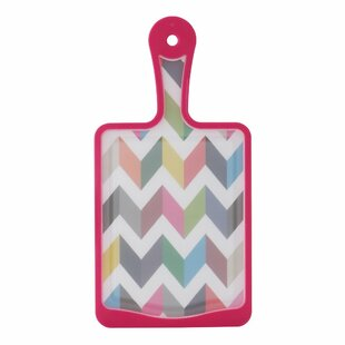 Plastic Paddle Antimicrobial Cutting Board By French Bull
