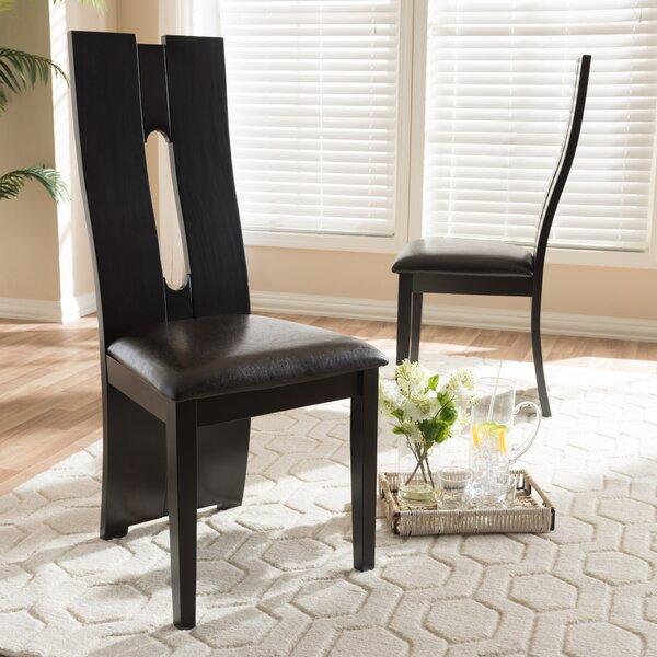 Dark Brown Dining Chair Wayfair