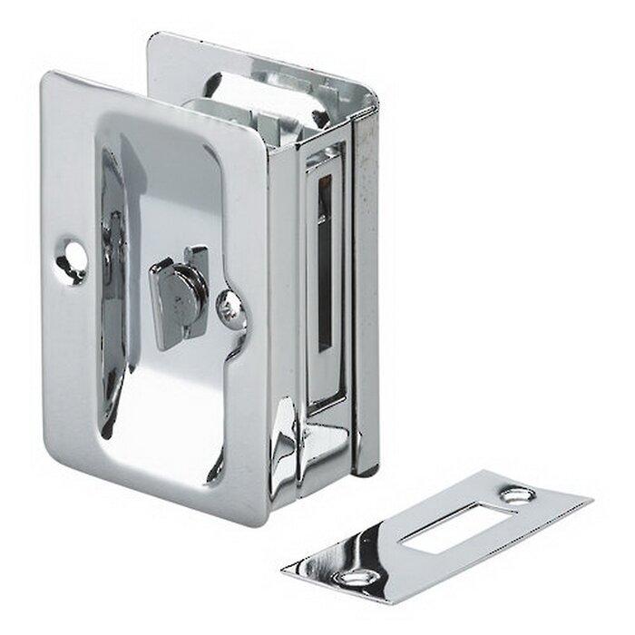 Richelieu Rectangular Pocket Door Pull With Privacy Lock U0026 Reviews | Wayfair