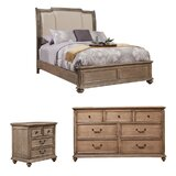Joutel Upholstered Standard Configurable Bedroom Set by One Allium Way