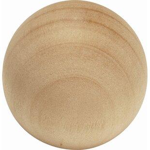 Natural Woodcraft Mushroom Knob by Hickory Hardware