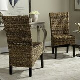 Willow Side Chair in Brown (Set of 2)