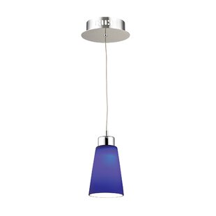 Latitude Run Leverett 1-Light Cone Pendant