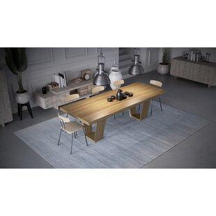 Brayden Studio Bodmin Solid Wood Dining T..