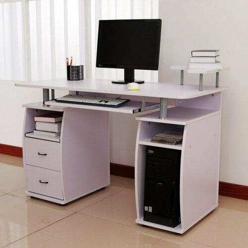 Computertisch Ridge Wood | Büro > Bürotische > Computertische | Lila | Mdf | 17 Stories