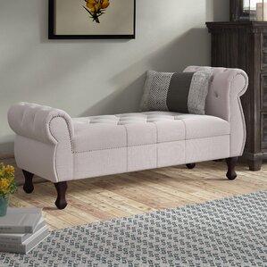 rosemond upholstered bench