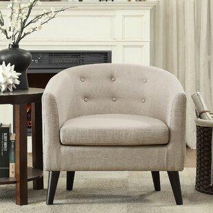 Look for Phipps Barrel Chair by Zipcode Design Reviews (2019) & Buyer's Guide