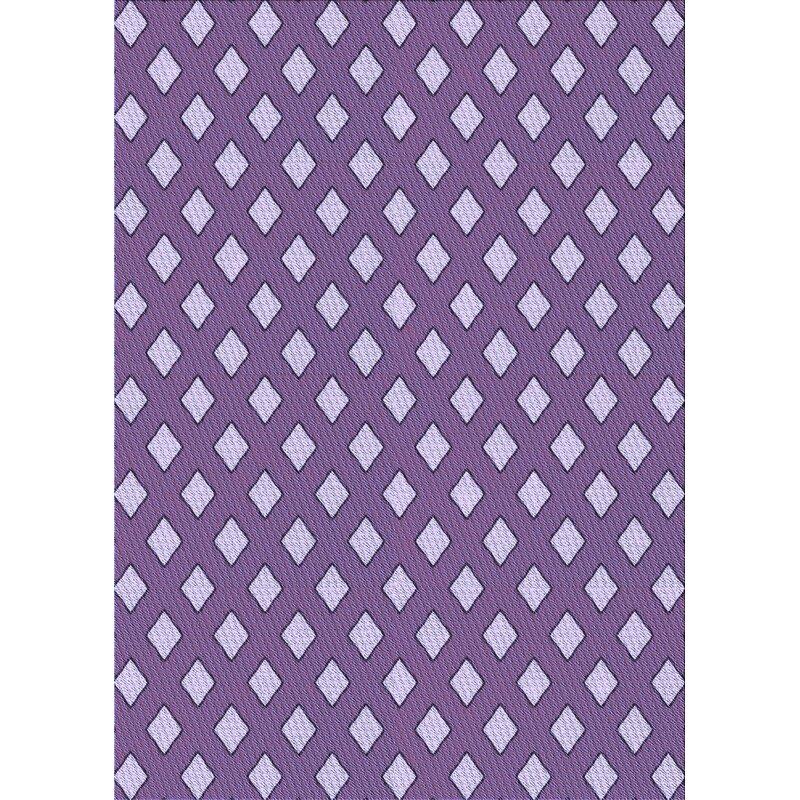 East Urban Home Sezgin Geometric Wool Purple Blue Area Rug Wayfair