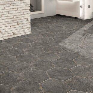 . Find the Perfect Bathroom Floor Hexagon Tile   Wayfair