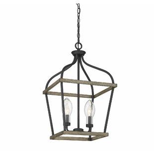 Find for Wilbur 2-Light Lantern Chandelier By Gracie Oaks