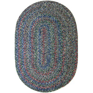 Rudauli Blue Indoor/Outdoor Area Rug