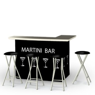 Martini 5-Piece Bar Set by Best of Times