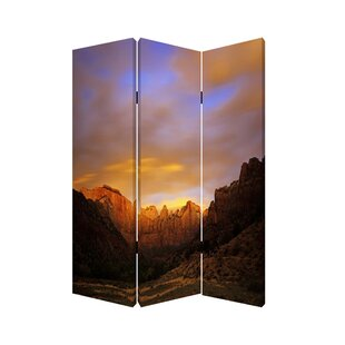 Screen Gems Desert 3 Panel Room Divider