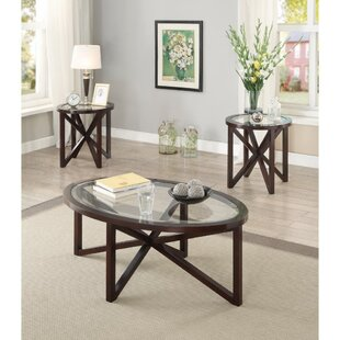 Alcott Hill Kratzer 3 Piece Coffee Table Set