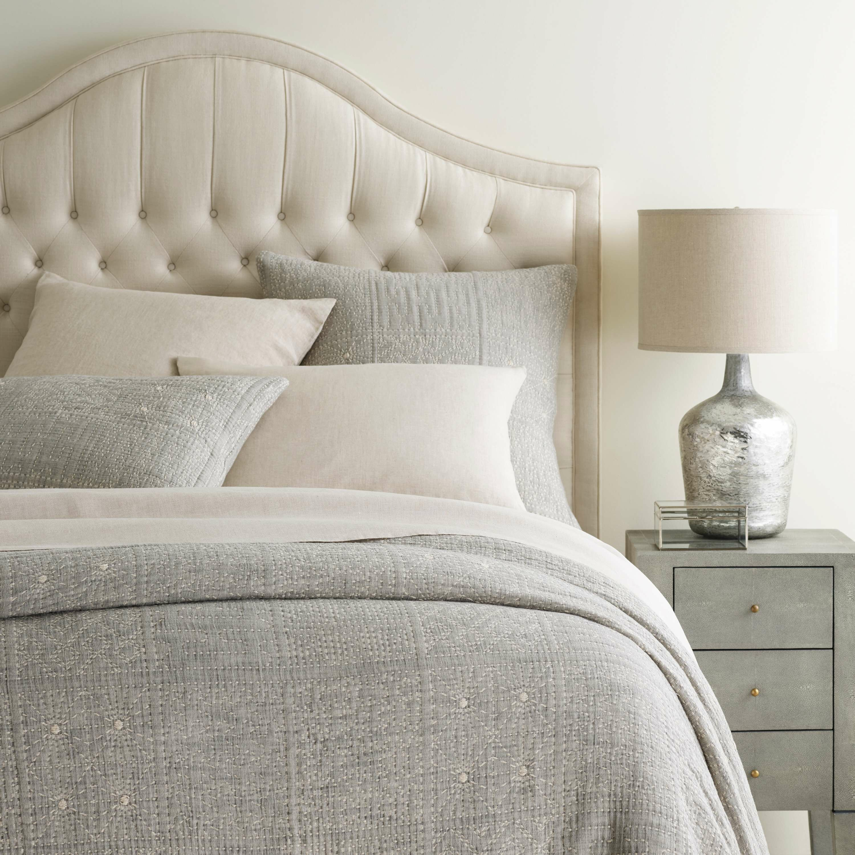 Pine Cone Hill Elsa Gray Geometric Cotton Coverlet Reviews Perigold
