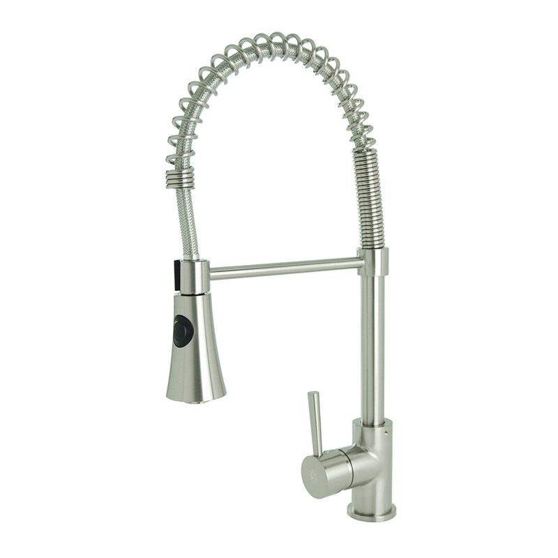 Fontainebyitalia Spring Coil Pull Down Single Handle