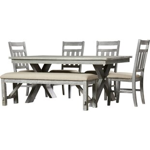 Quentin 6 Piece Dining Set  sc 1 st  Wayfair & Bench Kitchen \u0026 Dining Room Sets You\u0027ll Love | Wayfair