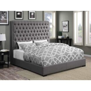 Brannelly Upholstered Panel Bed By Darby Home Co