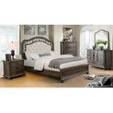 Demaria Upholstered Standard 5 Piece Bedroom Set by One Allium Way