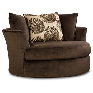 Perfect Rayna Transient Swivel Barrel Chair
