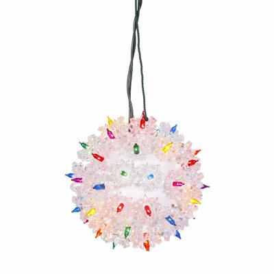 lighted twinkling starlight sphere christmas decoration - Starlight Sphere Outdoor Christmas Decoration
