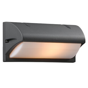 Affordable Iredell 1-Light Outdoor Flush Mount By Winston Porter