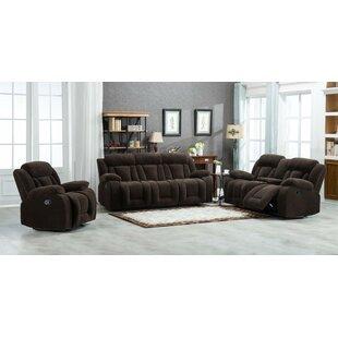 Adlingt 3 Piece Reclining Living Room Set by Winston Porter