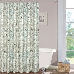 Dibenedetto Cotton Shower Curtain ByCharlton Home