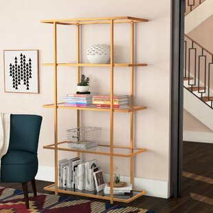 Price comparison Gossett 5-Tier Etagere Bookcase By Ivy Bronx
