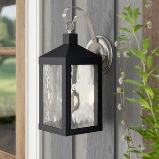 Demery Outdoor Wall Lantern by Mercury Row